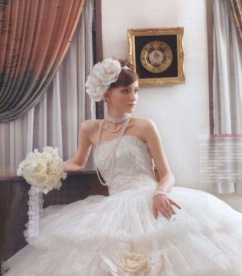 欧式浪漫婚纱场景