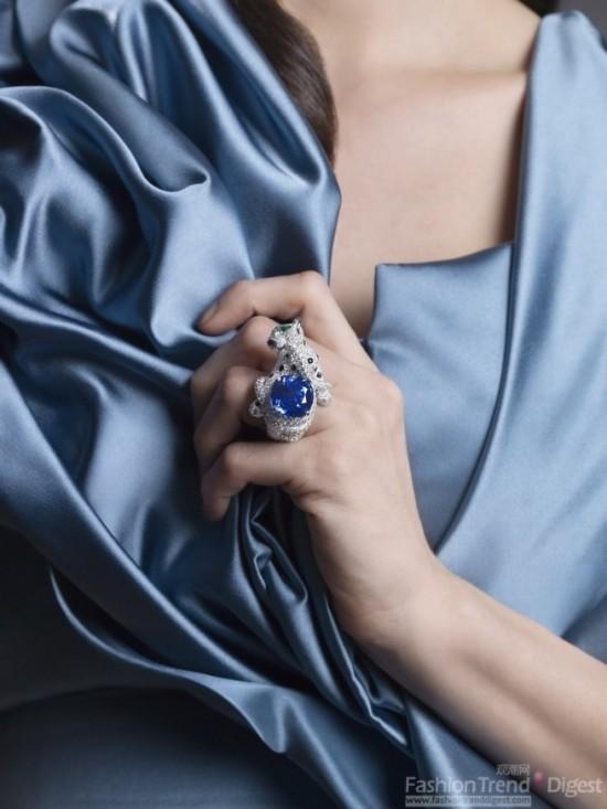 卡地亚高级珠宝系列戒指