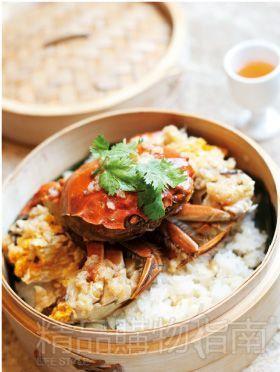 糯米蒸大闸蟹<br>中国元素中餐厅