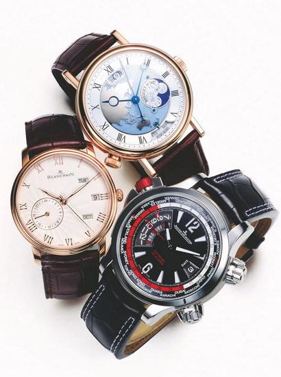 时区腕表:创新的世界时腕表