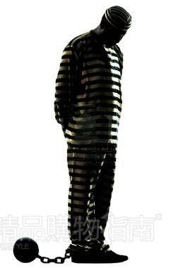 条纹囚犯服