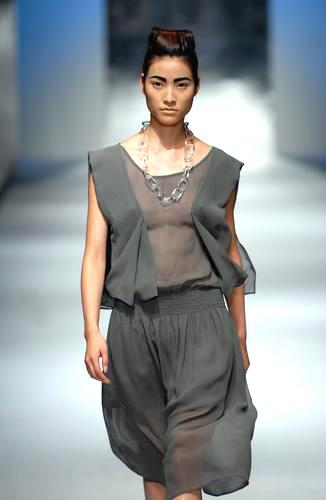 组图:上海时装周模特性感走秀(2)