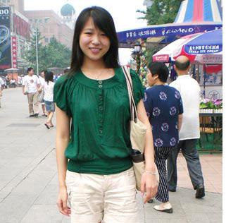 北京街头美女实拍北京街头美女北京王府井美女北京