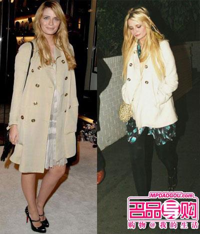 好莱坞女明星冬季穿大衣