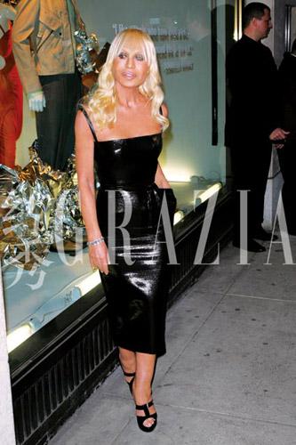GaGa的偶像Donatella Versace