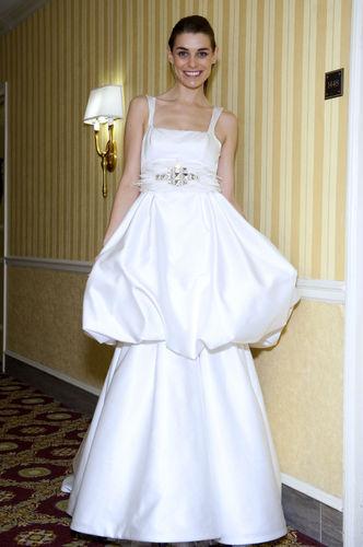 蛋糕裙如今也能用在婚纱上