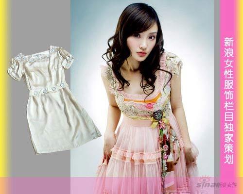 带有洛莉塔风格的裙子会让你瞬间变得年轻