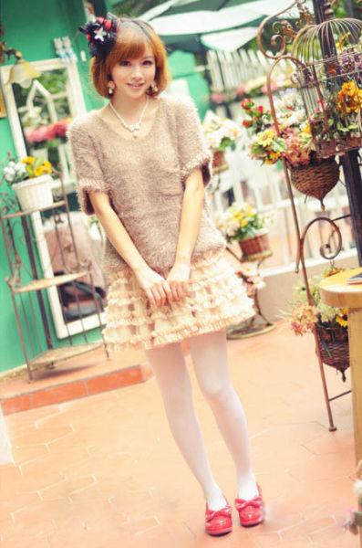 10款秋季甜美女装针织衫必备 宅女变潮女(图2)