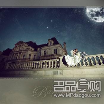 上海夫妻巴洛克古堡欧式婚照(组图)