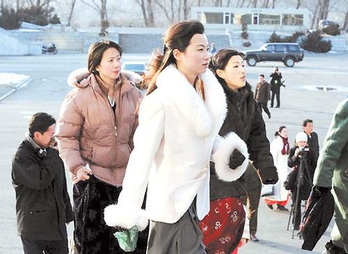 朝鲜女主播待遇丰厚图