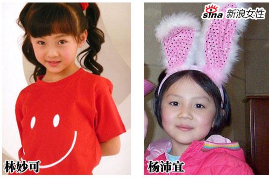 两个小女孩,谁会成为最红的奥女郎?