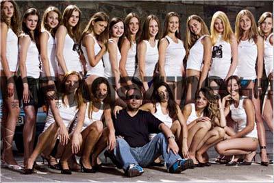 Peter Listerman和他的模特们