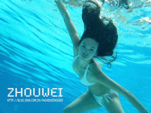 水下比基尼美女写真