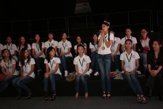 2012中国首席模特大赛总决赛选手自我介绍