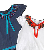 ANNA SUI民族风小衫日本价格:JPY15750.00元日本代购参考价:1280元