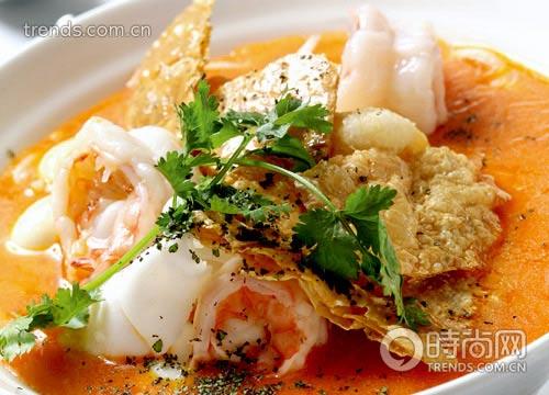 印度海鲜市场食物