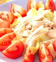 健康番茄沙拉特色
