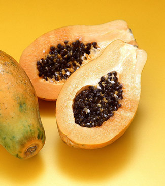 木瓜 黄色水果