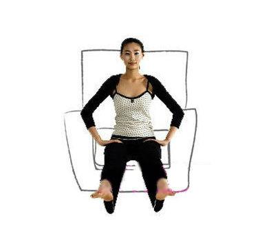 瘦四肢沙发减肥操 步骤9至12