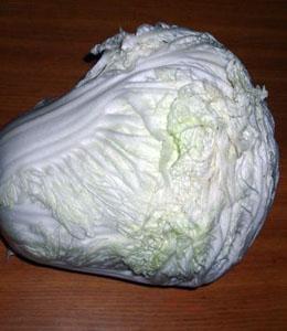 圆白菜维生素C含量很丰富