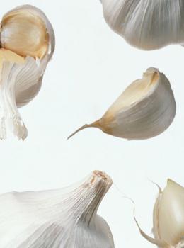 大蒜可减少血中胆固醇