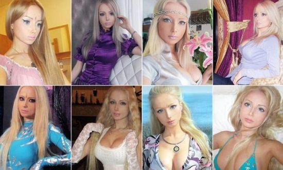 娃把自己整成了真人芭比.-乌克兰女青年整形后酷似芭比娃娃引发热