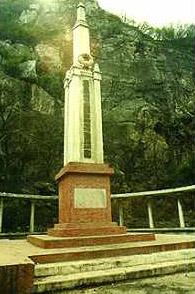 侵华日军南京大屠杀草鞋峡遇难同胞纪念碑(图)