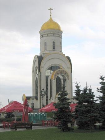 图文:莫斯科卫国战争殉难者教堂