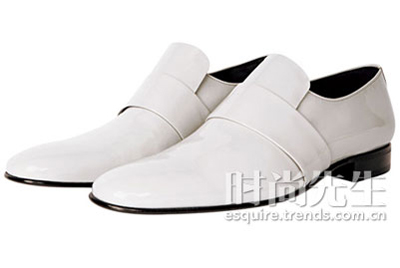 白色正装皮鞋bally
