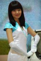丰田展台10号模特