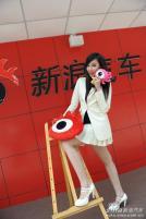 江淮展台模特