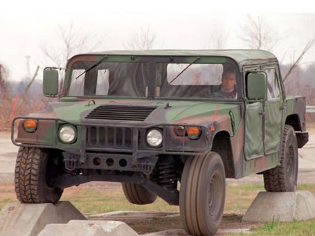 悍马原型车