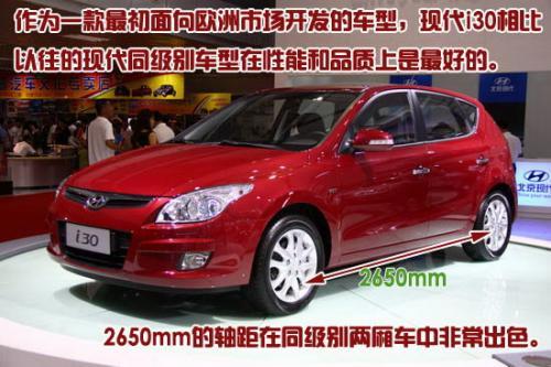 图为北京现代i30