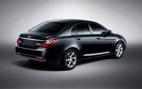 吉利帝豪品牌车型参数配置曝光 产品全面升级高清图片
