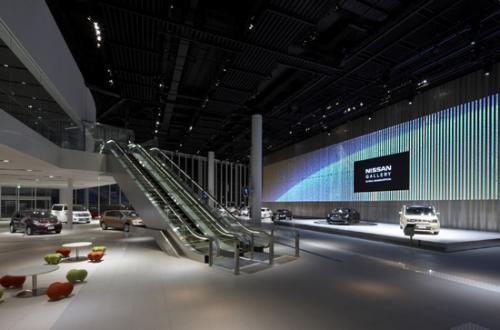 全新日产汽车总部展厅8月对外开放