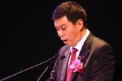 上海大众总经理刘坚致辞