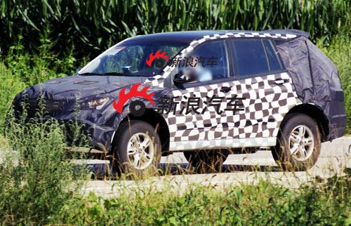 上汽荣威SUV仍然在一轮轮的测试中