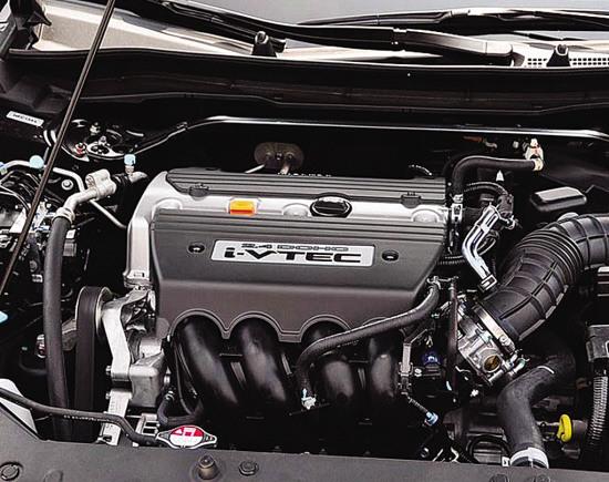 4升发动机,代号为k24z5的发动机和雅阁的基本相同,在i-vtec(智能可变图片