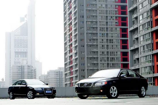 一汽-大众奥迪A6L和长安沃尔沃S80L