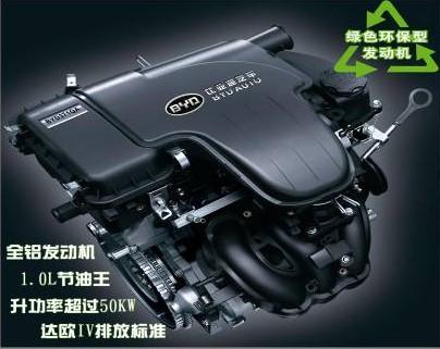 BYD371QA全铝高性能环保发动机