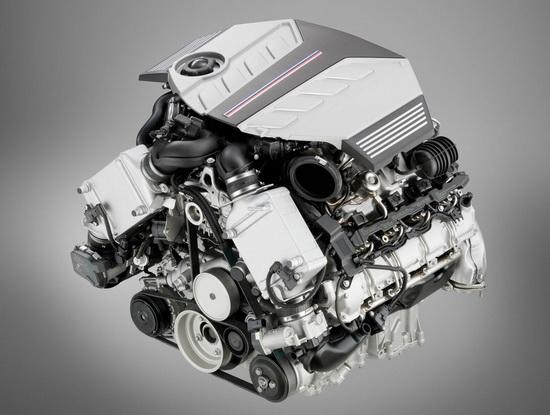 图为宝马x m发动机