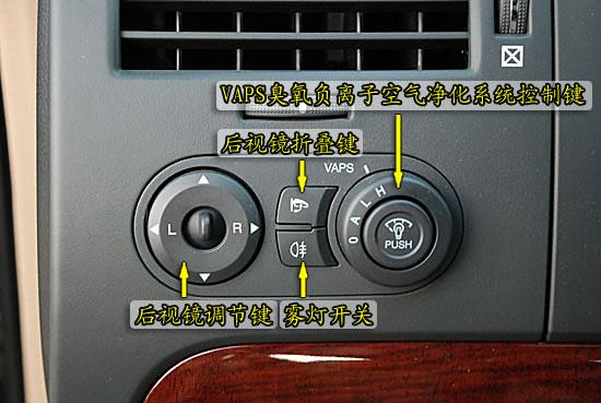 景程随车装配VAPS臭氧负离子空气净化系统