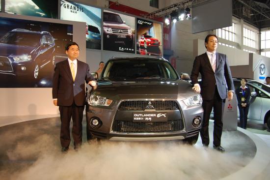 2010款欧蓝德亮相杭州车展,即日起正式进入江浙市场