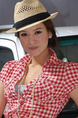 杭州车展模特