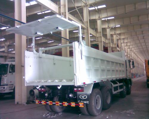 天津星马成功开发液压后门自卸车(图)图片