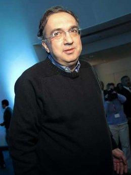 克莱斯勒集团兼意大利汽车制造商菲亚特(Fiat SpA)的首席执行官赛吉奥・ 马奇奥尼