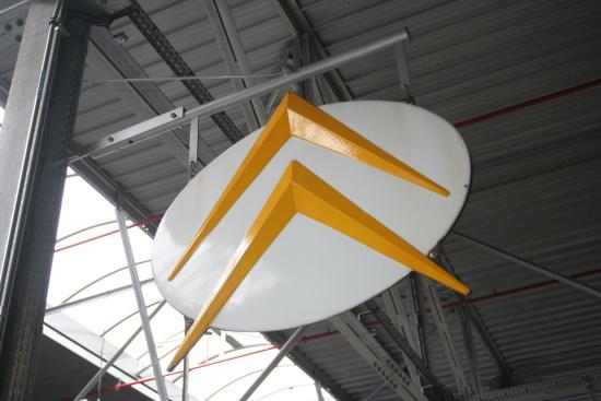 雪铁龙logo-在法国看雪铁龙 怎样看怎样顺眼高清图片