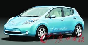 2011年,日产LEAF电动车将在中国率先上市,它也可看做是日产TIIDA的电动车兄弟。