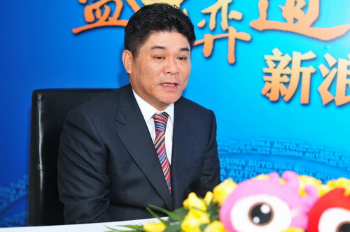 东风悦达起亚销售本部副本部长王敦明