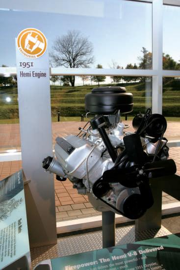 HEMI半球形燃烧室发动机